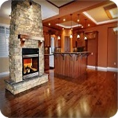 sample of some hardwood flooring