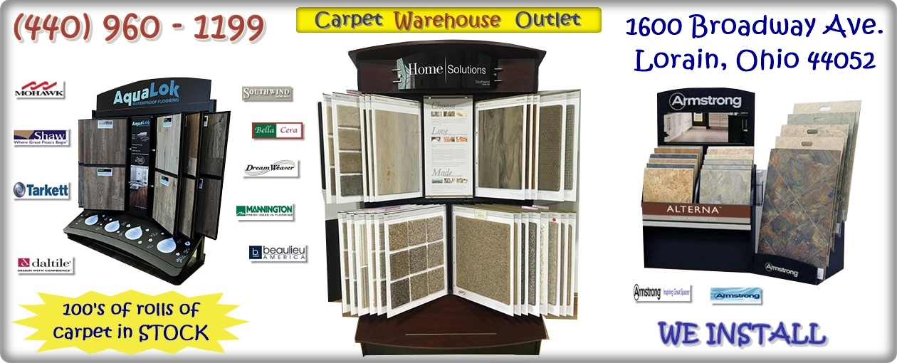 Carpet Warehouse banner