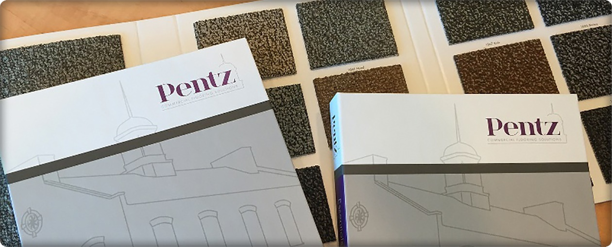 Carpet Sample books from Pentz