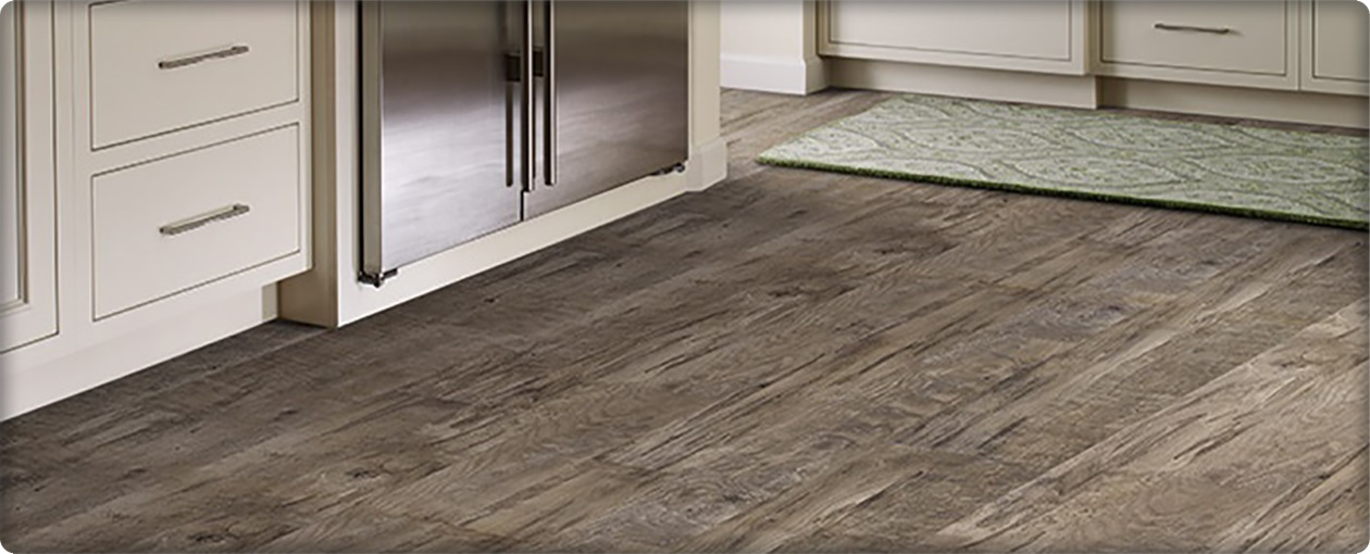 Sample of laminate flooring